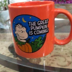 Peanuts Large Ceramic Mug Halloween collection